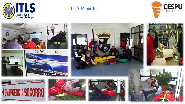 "Curso ""International Trauma Life Support"" (ITLS) - Cadaval"